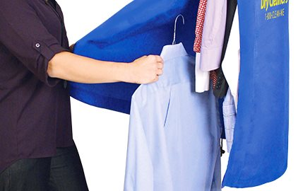 Easy Load Open Bag Bottom Easy Garment Loading