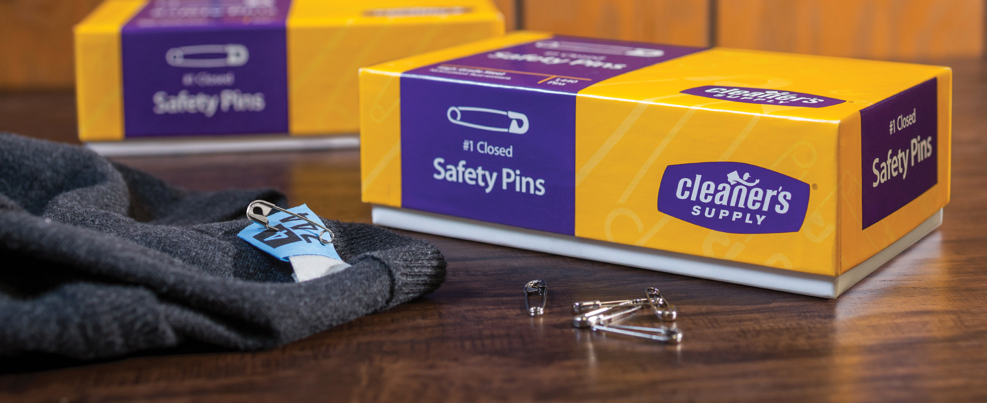 Cleaner's Supply Safety Pins