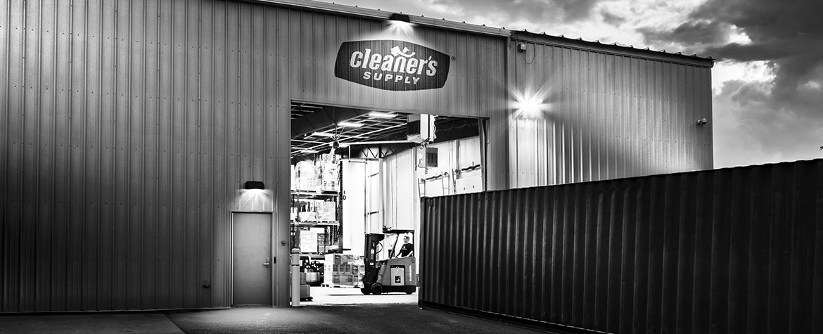 Cleaner's Supply Warehouse Shipping Late Into The Night