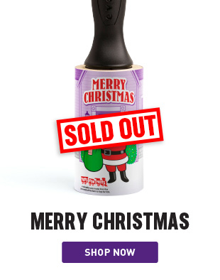 Merry Christmas Holiday Lint Remover Sold Out