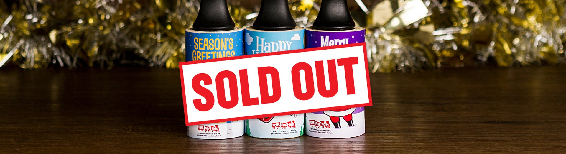 Cleaner's Supply 2019 Holiday Lint Removers Sold Out