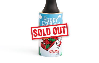 Cleaner's Supply 2019 Holiday Lint Removers Happy Holidays Sold Out