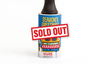 Cleaner's Supply 2019 Holiday Lint Removers Holiday Lint Removers Season's Greetings Sold Out