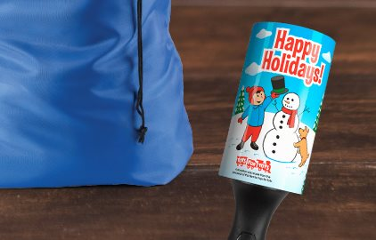 Holiday Lint Remover Promotion