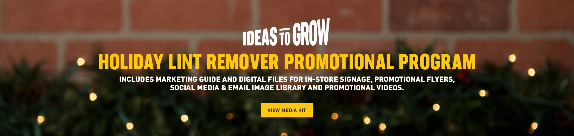 Ideas to Grow Holiday Lint Remover Promotional Program