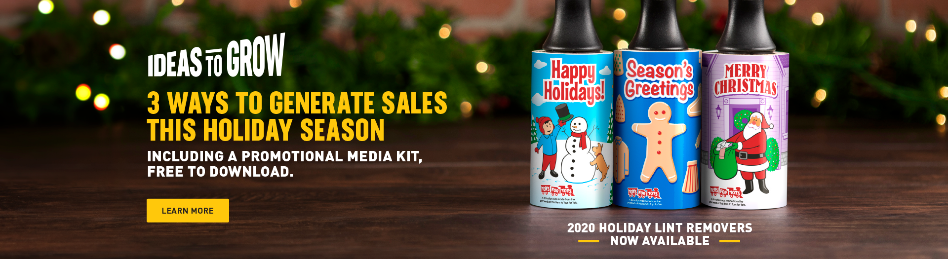 2020 Cleaner's Supply Holiday Lint Removers and Media Kit