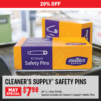 Cleaner's Supply Safety Pins Sale