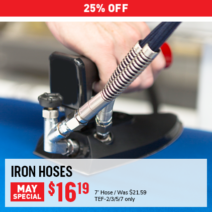 Cleaner's Supply Iron Hoses Sale