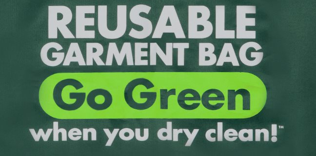 Reusable Garment Bag Go Green When You Dry Clean