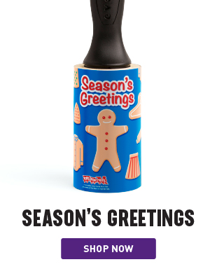 Season's Greetings Holiday Lint Remover